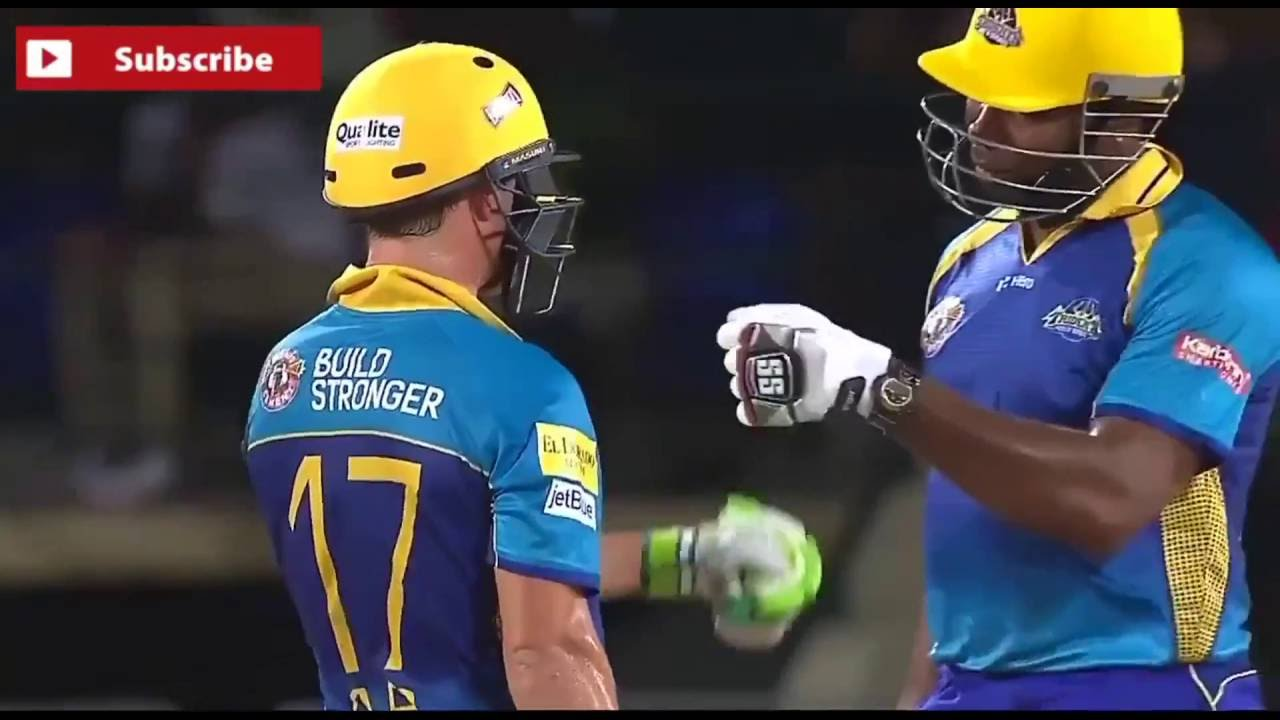 Top 5 biggest Sixes in CPL T20 HD